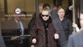 Hilari Klinton izlazi iz bolnice u Njujorku