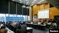 世界衛生組織2月11日在日內瓦就新冠狀病毒疫情舉行新聞發布會。