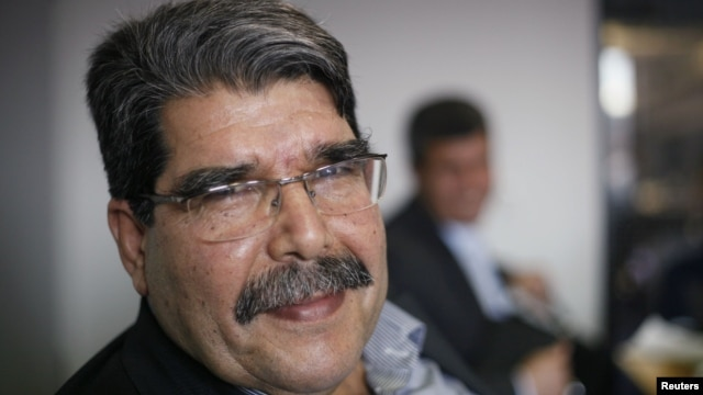Saleh Muslim, head of the Kurdish Democratic Union Party (PYD) in Berlin, April 18, 2013.