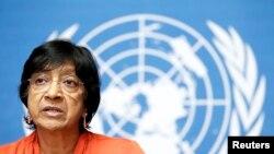 (UN High Commissioner for Human Rights )ကုလ လူ႔အခြင့္အေရးဆိုင္ရာ မဟာမင္းႀကီး Navi Pillay။