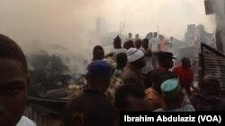 Des images d'archives d'un attentat dans un marché dans l'Etat d'Adamawa