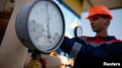 位于乌克兰西部的一个气压站(资料照片)