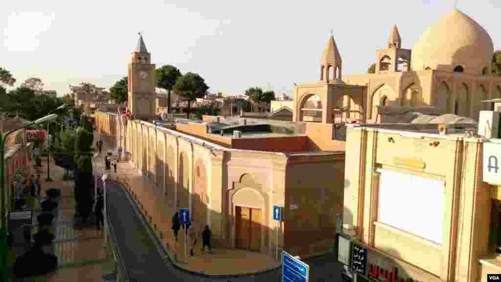 کلیسای وانک در خیابان وانک اصفهان عکس: آرش محمدی(ارسالی از شما)