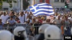 Los mercados asiáticos cayeron este lunes 19 de septiembre de 2011, por temor a que se profundice la crisis financiera griega.