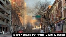 Une image publiée sur Twitter par le département de police de Nashville.