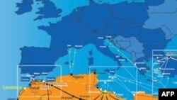 FRONTEX'e göre AB ülkelerine giriş için kullanılan rotalar
