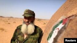 Mohamed al Wali, 65 tahun, seorang pejuang Front Polisario di Western Sahara, 9 September 2016 . REUTERS/Zohra Bensemra