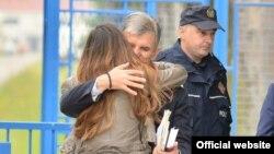 Svetozar Marović po izlasku iz zatvora