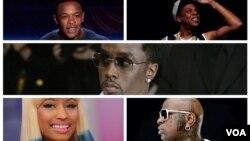 Rappers americanos na lista da Forbes