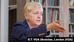 Валерія Гонтарева очолювала Національний банк України 2014-17 р., а з 2018 року працює старшим науковим співробітником Інституту глобальних справ Лондонської школи економіки