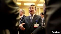 Wang Shouwen, vice-ministre chinois du Commerce le 25 mars 2018