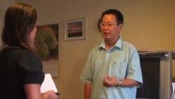 美教授声援北大夏业良争取政治自由