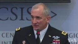 布朗上将谈美中两军交流原声视频
