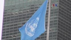 Dentro de las instalaciones de la ONU