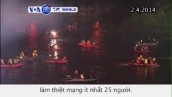 Máy bay Đài Loan rơi xuống sông, ít nhất 25 người thiệt mạng (VOA60)