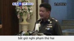 Cảnh sát Thái Lan ban hành lệnh bắt nghi phạm thứ hai trong vụ đánh bom Bangkok (VOA60)