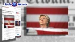Bà Clinton chi 6 triệu đô gửi thư cho cử tri (VOA60)
