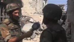 کنترل بخشی از منطقه جوبار دمشق توسط ارتش سوریه