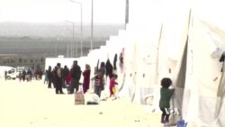 Bombs, Devastation Keep Kobani Refugees from Going Home