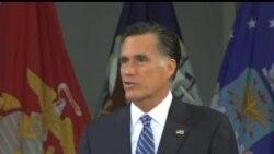 2012-10-08 美國之音視頻新聞: 羅姆尼首次就外交政策發表競選演說