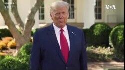 特朗普總統表示他將重返競選活動
