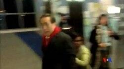 2016-01-26 美國之音視頻新聞: 港大學生抗議李國章擔任校委會主席
