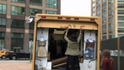 Мобильные магазины - новый тренд в Нью-Йорке