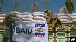USAID food truck in Afghanistan