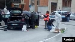 خودروی مهاجم تیراندازی در شهر ماچراتا ایتالیا