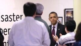 El presidente Barack Obama recorrerá este miércoles las zonas devastadas por la supertormenta Sandy en Nueva Jersey.
