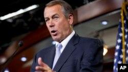 Ketua DPR AS yang berasal dari Partai Republik, John Boehner (foto: dok).