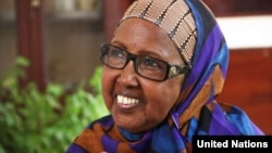 Nhà hoạt động Hawa Aden Mohamed, thường được gọi là Mama Hawa, được chọn để trao giải thưởng Nansen