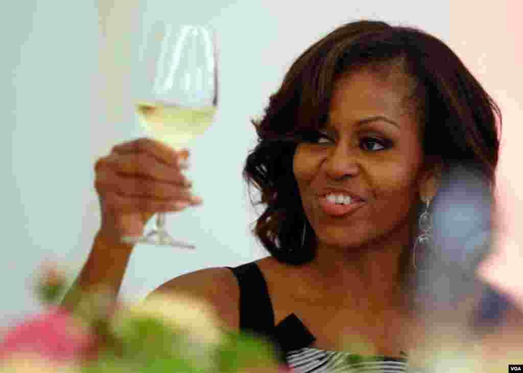 Um brinde a Michelle Obama