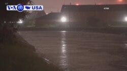 VOA60 America - Texas and Louisiana prepare for Tropical Storm Imelda