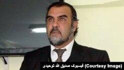 صدیق الله توحیدی، معاون کمیسیون ویژۀ اصلاح نظام انتخاباتی افغانستان