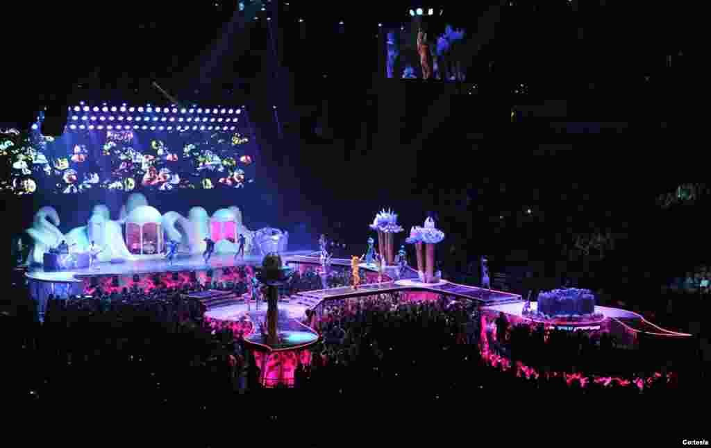 Concierto de Lady Gaga en la ciudad de Pittburgh.