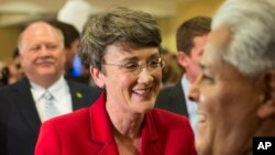 Nữ tân Bộ trưởng Không quân Hoa Kỳ Heather Wilson.