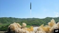 Misile balistique itewe na Koreya ya Ruguru