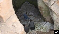 'غار یخ' در بامیان