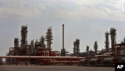 A general view of a natural gas refinery in the South Pars gas field on the northern coast of Persian Gulf in Asalouyeh, Iran, Nov. 19, 2015. The CWC Iran Gas Conference in Frankfurt, Germany, is bringing together government figures and private investors.