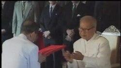 2012-10-16 美國之音視頻新聞: 柬埔寨民眾悼念西哈努克