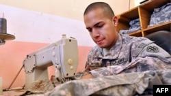 Военная мода пользуется успехом