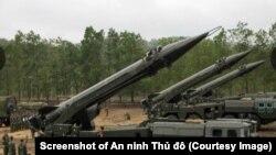 Hệ thống tên lửa đạn đạo Scud của Việt Nam lần đầu tiên ra mắt công chúng tại lễ kỷ niệm Ngày thành lập Quân đội Nhân dân Việt Nam hôm 23/12/2019. (Ảnh chụp màn hình An ninh Thủ đô)