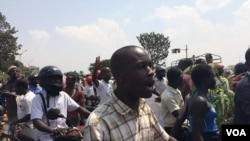 Wafuasi wa Besigye, Kampala