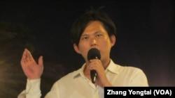 台灣在野黨民進黨立委尤美女 (美國之音張永泰拍攝)