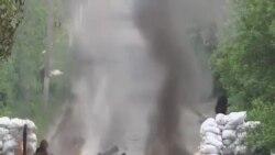 烏克蘭政府軍與反政府分子在東部爆發戰鬥