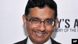"Writer/Exec. Producer/Co-Director Dinesh D'Souza seen at D'Souza Media Premiere of ""Hillary's America"" in Los Angeles, California, July 11, 2016."