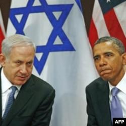 Izraelski premijer Benjamin Netanjahu i predsednik Barak Obama na marginama zasedanja Generalne skupštine Ujedinjenih nacija