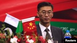 پاکستان میں تعینات چین کے سفیر یاؤ جنگ (فائل فوٹو)