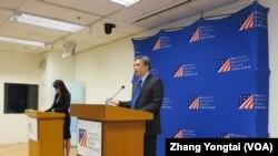 AIT离任处长梅健华:美国不会以维安做政治表态